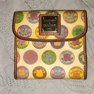 Classic vintage Dooney and Bourke wallet